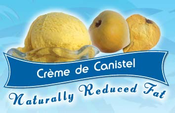 Creme de Canistel Ice Cream