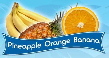 Gaby's Farm - Pineapple Orange Banana Sorbet
